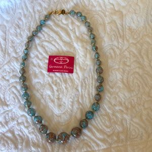 Murank Glass Bead Necklace - NEW